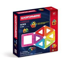 Магнитный конструктор MAGFORMERS 14 Basic 701003 (63069) - фото 7509