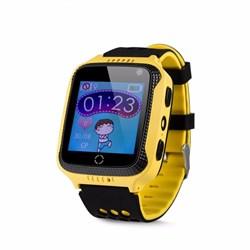 Wonlex GW500S детские смарт-часы с GPS трекером желтый - фото 7880