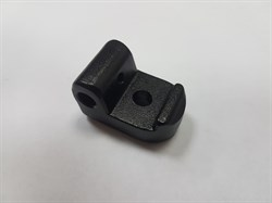 Язычок запирающий (черный) механизма складывания Inokim OX/OXO - фото 8054