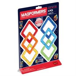 Магнитный конструктор MAGFORMERS 701001 (63086) Квадраты 6