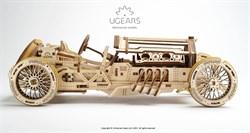 Сборная модель UGEARS Спорткар U-9 Гран-при 70044