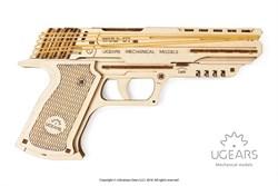 Сборная модель UGEARS Пистолет Вольф-01 70047