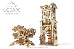 Сборная модель UGEARS Башня-аркбаллиста 70048