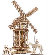 Сборная модель UGEARS Мельница-башня 70055