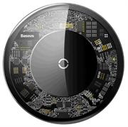 Беспроводная зарядка Baseus Simple прозрачная (CCALL-AJK01)