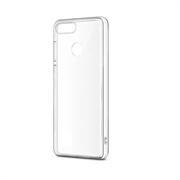 Чехол силиконовый для HUAWEI Honor 7A Pro тонкий прозрачный
