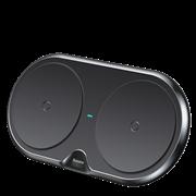 Беспроводное зарядное устройство Baseus Dual Wireless Charger черный (WXXHJ-A01)