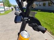 Велосипедный цепной замок в тканевой оплетке LiRider