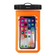 Водонепроницаемый чехол Baseus Multi-functional Waterproof Bag (ACFSD-A07) оранжевый