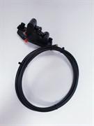 Комплект гидравлического тормоза для электросамоката/электровелосипеда Zoom (190 см) левая ручка, заднее колесо