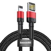 Кабель Baseus Cafule Cable (special edition) USB - Lightning  2.4A 1M (CALKLF-G91)
