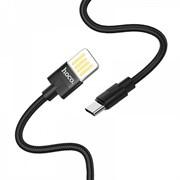Кабель Hoco U55 USB - Type-C 2,4A 1.2м черный