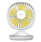 Настольный вентилятор Baseus Pudding-Shaped Fan (CXBD-02) белый