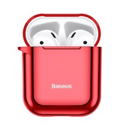 Чехол для Airpods Baseus Shining hook Case (ARAPPOD-A09) красный