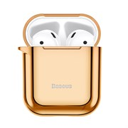 Чехол для Airpods Baseus Shining hook Case (ARAPPOD-A0V) золотой
