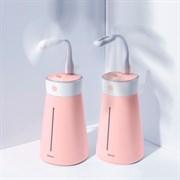 Увлажнитель воздуха Baseus Slim Waist Humidifier с вентилятором и лампой розовый (DHMY-B04)