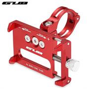 Держатель для телефона/ смартфона на велосипед GUB G-85 красный