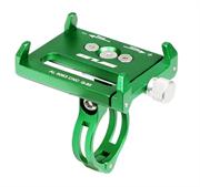 Держатель для телефона/ смартфона на велосипед GUB G-85 зеленый