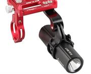 GUB G-88 держатель телефона с дополнительным креплением красный