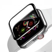 Защитное стекло Baseus Full-screen Curved Tempered Film для Apple Watch series 4/5 44mm черный (SGAPWA4-H01)