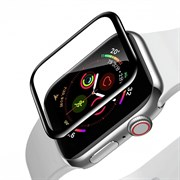 Защитное стекло Baseus Full-screen Curved Tempered Film для Apple Watch series 1/2/3 42mm черный (SGAPWA4-F01)