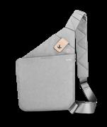 Сумка через плечо WiWU Cross Body Bag серая