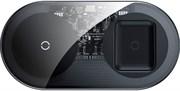 Беспроводное зарядное устройство Baseus Simple 2in1 Wireless Charger (WXJK-A01) черный