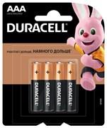 Батарейка Duracell AAA Basic LR03 4 шт