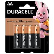 Батарейка Duracell AA Basic LR06 4 шт