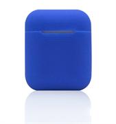 Чехол-футляр для Apple Airpods case Cheap silicone синий