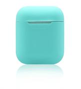 Чехол-футляр для Apple Airpods case Cheap silicone мятный