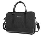 """Сумка для ноутбука WiWU London Slim Case 15.4"""" черный"""