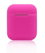 Чехол-футляр для Apple Airpods case Cheap silicone розовый