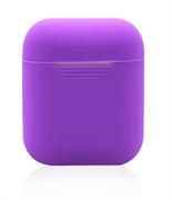 Чехол-футляр для Apple Airpods case Cheap silicone фиолетовый