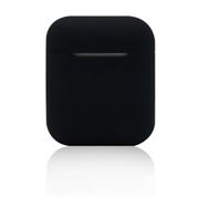 Чехол-футляр для Apple Airpods case Cheap silicone черный