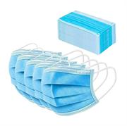 Маска медицинская Ru Comfort 3-слойная с фиксатором п/э упак. голубой 50 шт.