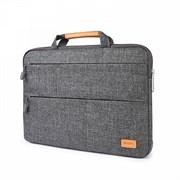 """Сумка для ноутбука WIWU Smart Stand Sleeve 14"""" для Macbook Air серый"""