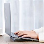 Подставка для ноутбука Baseus Papery Notebook Holder (SUZC-0S) серебристый