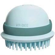 Антистатическая массажная расчёска для волос Xiaomi KRiBEE Electric Massage Comb мятный