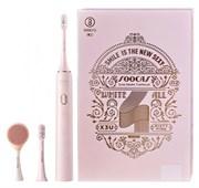 Электрическая ультразвуковая зубная щетка Xiaomi Soocas X3U Pink Set Limited Edition Facial розовый