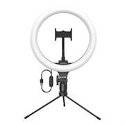 Кольцевая светодиодная лампа Baseus Live Stream Holder Table Stand (CRZB10-A01)