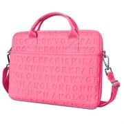 """Сумка для ноутбука WiWU City Cosmo Slim Case 13.3"""" розовый"""
