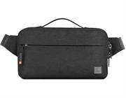 Поясная сумка WiWU Alpha Crossbody Bag черный
