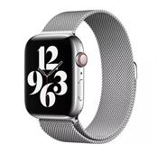 Ремешок для Apple Watch WIWU миланская петля 42/44 mm Silver