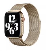 Ремешок для Apple Watch WIWU миланская петля 42/44 mm Gold
