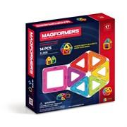 Магнитный конструктор MAGFORMERS 14 Basic 701003 (63069)