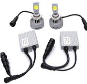 Комплект светодиодных LED ламп CREE с драйверами для автомобиля 4hl-9005