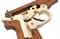 Сборная деревянная модель TARG 0077 PM-9mm - фото 10423
