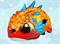 Шлем детский GUB King оранжевый - фото 18144