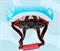 Шлем детский GUB King зеленый - фото 8014